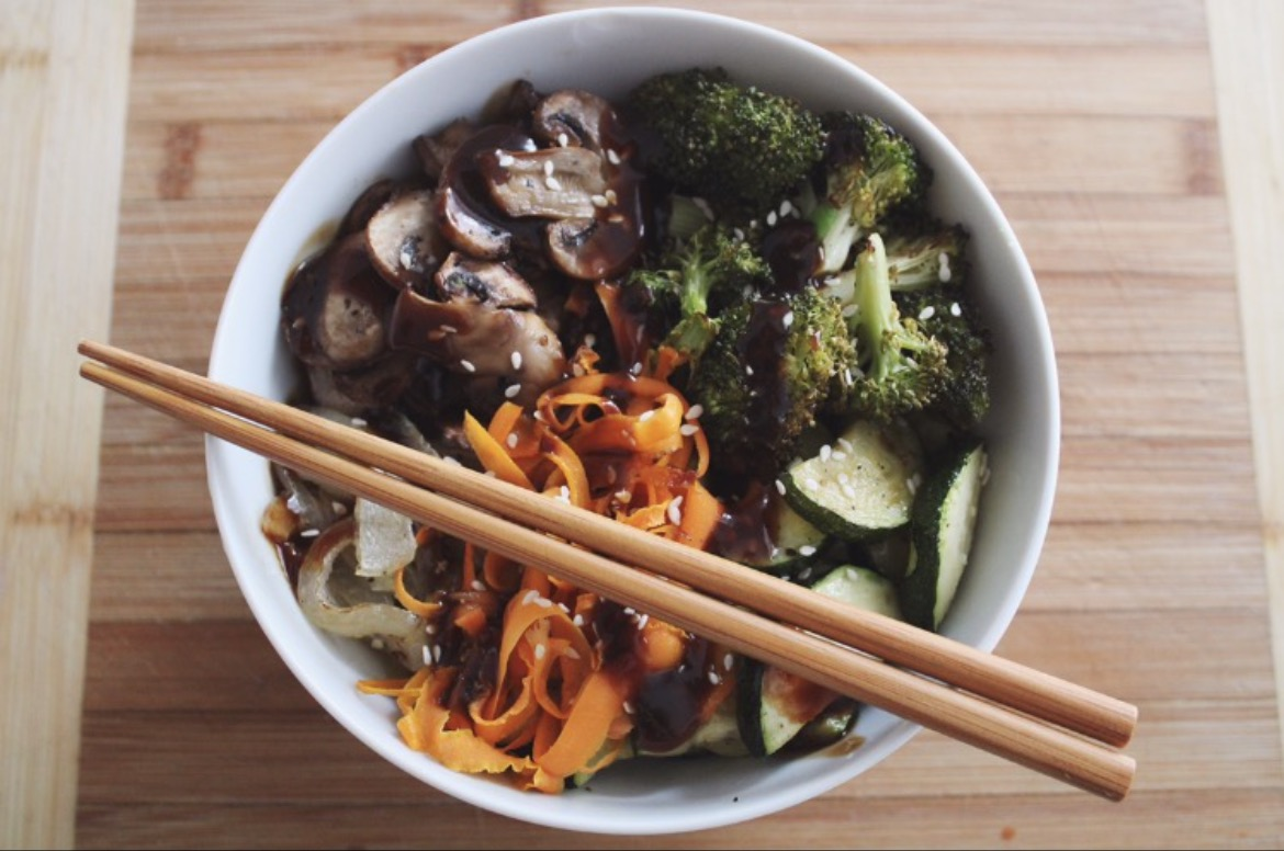 Asian Veggie Bowl Recipe